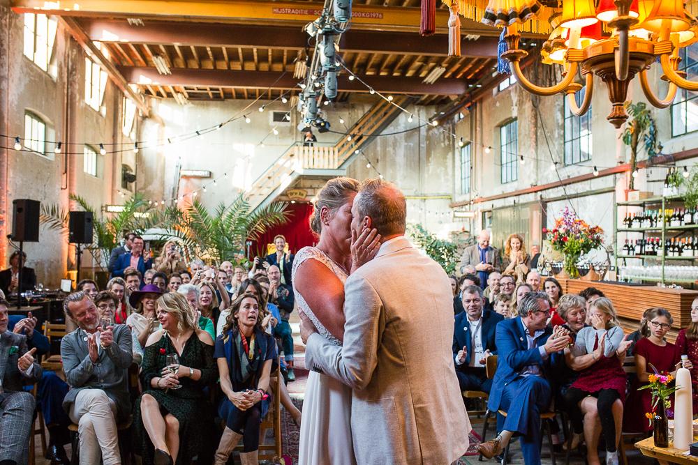 Bruidsfotografie Metaal Kathedraal