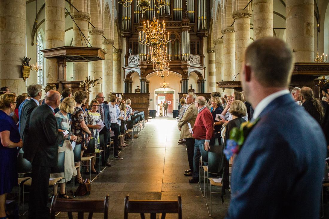 Trouwen in de Grote Kerk Naarden