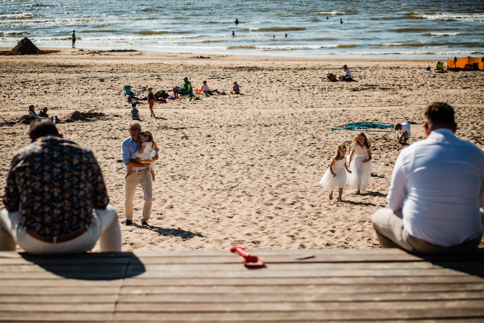 Trouwen op het strand Bloemendaal