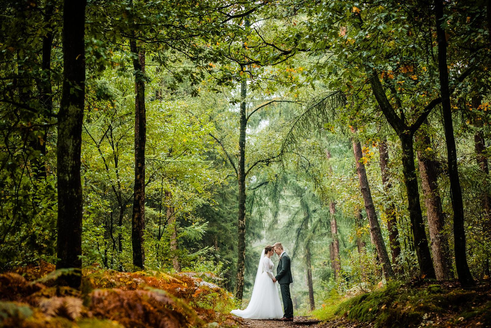Fotoshoot bruidspaar Ede
